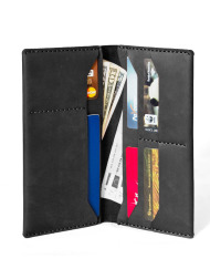 Verge Boss Wallet black leather