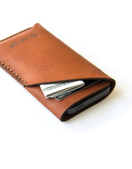 iphone leather case brown