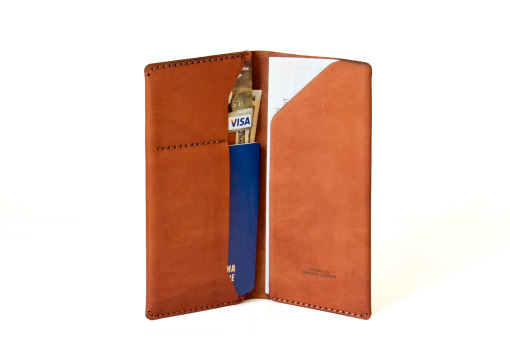 Leather Travelbook Brown