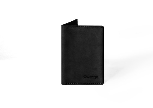 Verge Passport book black