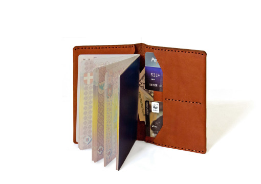 Verge Passport book brown